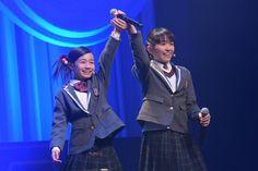 Kano and Miki, the shortest of Sakura Gakuin :))