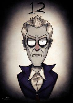 Doctor Who / Tim Burton mashup - 12. Peter Capaldi