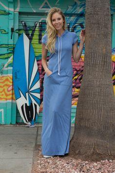 Laguna Maxi Dress Blue