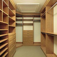 Closets - Custom Closets by Classy Closets Small Master Closet, Walk In Closet Small, Walk In Closet Design, Master Bedroom Closet, Small Closets, Closet Designs, Bedroom Wardrobe, Bedroom Small, Wardrobe Design