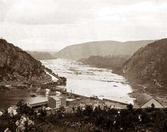 Harper's Ferry, West Virginia. View of Maryland Heights
