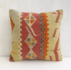 Ethnic Decorative Kilim Throw Pillow