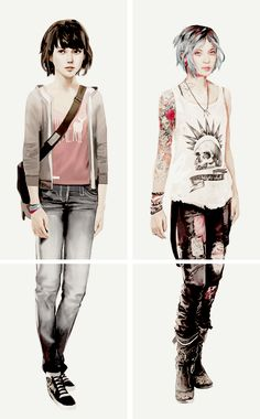 Life is Strange Game, Fan Art, Cosplay. Life is Strange → concept art awesome art and amazing game! Game Character, Character Concept, Game Concept Art, Character Design, Chloe Price, Video Game Art, Video Games, Arcadia Bay, Dontnod Entertainment