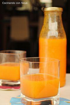 Neus cocinando con Thermomix: Zumo de papaya y naranja