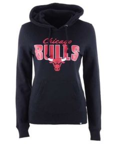 d03a18d95 '47 Brand Women's Chicago Bulls Headline Hooded Sweatshirt & Reviews -  Sports Fan Shop By Lids - Women - Macy's