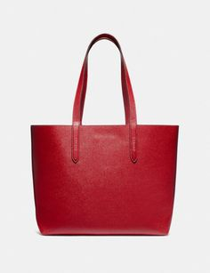 Coach Wizard of Oz Highline Tote With Motif Silver/Red Apple DEFAULT_CATEGORY Alternate View 2 Beloved Film, Ruby Slippers, Coach Leather Cleaner, Designer Totes, Wizard Of Oz, Red Apple, Have Some Fun, Leather Fabric, Warner Bros