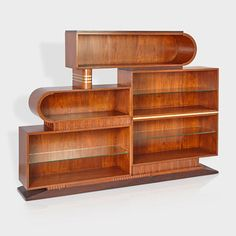 ART DECO BOOKCASE- Great in any style home, who doesn't need more bookshelves?