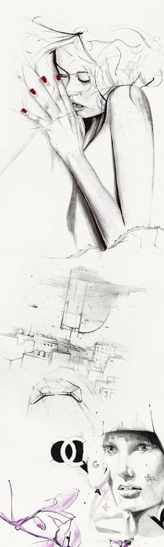 SKETCHBOOK 05 - 09 by Alexis Marcou, via Behance