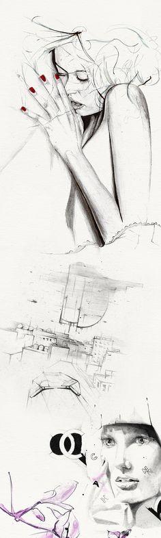 SKETCHBOOK 05 - 09 by Alexis Marcou, via Behance