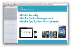 Mobile Security Mobile Device Management Mobile Application Management.ppt.png (1090×728)