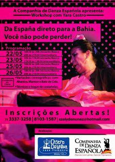 El Cajón Flamenco: Workshop flamenco com Yara Castro em Salvador