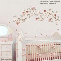Adesivo de Parede Arabesco Romântico 2, muito delicado! Fashion For Petite Women, Womens Fashion For Work, Winter Dress Outfits, Baby Room, Cribs, Nursery, Interior Design, Bed, Montessori