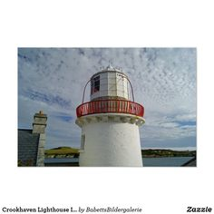 Shop Crookhaven Lighthouse Irish country Poster created by BabettsBildergalerie. Light Architecture, Architecture Posters, Tower Light, Corner Designs, Custom Posters, Lighthouse, Ireland, Irish, Country