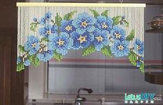 DIY beaded curtain -----LetusDIY.ORG|DIY Everything here