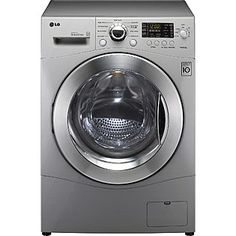 LG- -2.3 cu. ft. All-in-One Washer and Dryer - Metallic