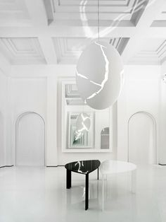Egg light by Ingo Maurer,  http://www.ingo-maurer.com/en/projects/fondazione-carispe