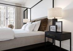 10 Top Useful Ideas: Contemporary Interior Courtyards contemporary furniture gray walls. Master Bedroom Design, Home Decor Bedroom, Modern Bedroom, Bedroom Furniture, Bedroom Ideas, Eclectic Bedrooms, Trendy Bedroom, Bedroom Designs, Furniture Ideas