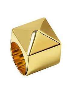 Marc by Marc Jacobs Standard Plaque Ring