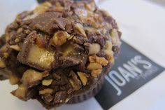 Snickers Cupcakes! That'll take a few miles on the treadmill to work off-but sooooo worth it!!!! :)