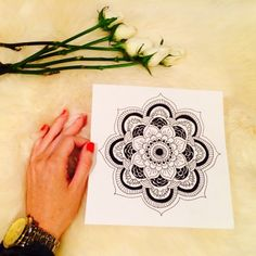 How to draw a mandala | The Little Sage | The Little Sage | Your guide to intuitive living with Helen Jacobs