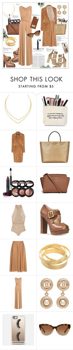 """Best Friends- Flowy chic."" by zeljkaa ❤ liked on Polyvore featuring Lana, Burberry, Givenchy, Laura Geller, Michael Kors, Jason Wu, MaxMara, Alexander Wang, Alberta Ferretti and Chanel"