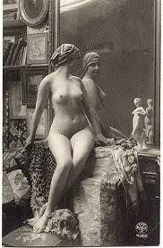 Antique nude postcards