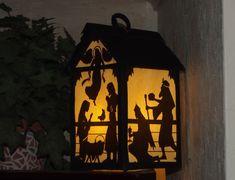 Nativity Paper Lantern for Christmas SVG and PDF от GordonsStudio