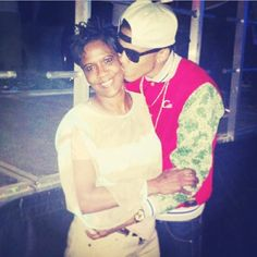 August and his mama