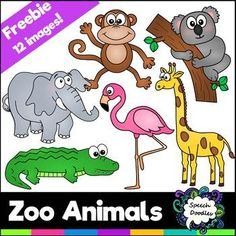 For Personal and Commercial use Zoo Clipart, School Clipart, Cute Clipart, Classroom Clipart, Classroom Themes, Owl Clip Art, Animal Worksheets, Teacher Freebies, Black And White Lines