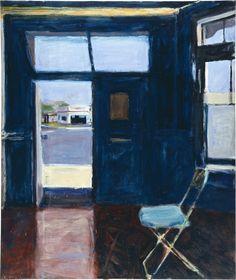 RICHARD DIEBENKORN Interior with Doorway, 1962 Oil on canvas 70 2/5 × 59 1/2 in 178.8 × 151.1 cm