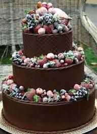 Image result for winter wedding cakes berries