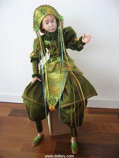 Ankie Daanen, Fantasy in Green