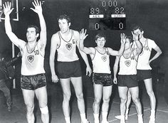 Η ΑΕΚ Κυπελλούχος Ευρώπης!: Στις 4 Απριλίου 1968 η ΑΕΚ νικά τη Σλάβια Πράγας με 89-82 και κατακτά το κύπελλο κυπελλούχων στο μπάσκετ. Ήταν ο πρώτος ευρωπαϊκός τίτλος για το ελληνικό μπάσκετ... Kai, The Originals, Amazing, Chicken