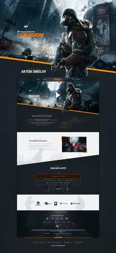 ArtStation - Tom Clancy's The Division - Website - Concept, Artem Smislov
