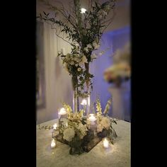 www.flowersbybrian.com Green Centerpieces, Candles, Table Decorations, Furniture, Home Decor, Decoration Home, Room Decor, Candy, Home Furnishings