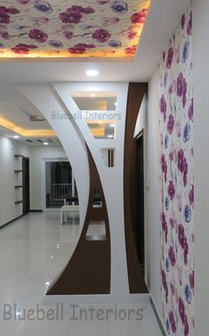 Astral Plane - Real or Imagined? in 2020 Room Partition Wall, Living Room Partition Design, Living Room Tv Unit Designs, Room Partition Designs, Ceiling Design Living Room, Bedroom False Ceiling Design, Room Door Design, Kitchen Room Design, Home Room Design