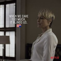 """House of Cards"". Claire Underwood aka Robin Wright..."