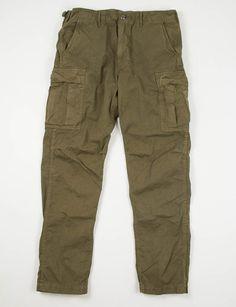 orSlow Green 6 Pocket Cargo Pant