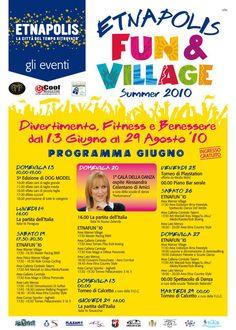 Fun & Village, Giugno 2010. Divertimento, Fitness, Benessere e uno straordinario Concorso a Premi.