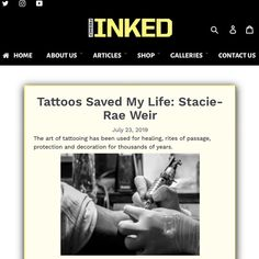 I also write for Freshly Inked Magazine! There is so much power in the transformational tattoo, what's your story and how can I help you heal? Tattoo Blog, I Tattoo, Cool Tattoos, Meridian Points, Believe Tattoos, The Iceman, Rite Of Passage, Inked Magazine, Save My Life