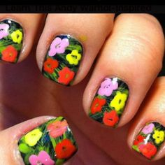 #ManicureMonday is a brighter take on the day so many of us dread.