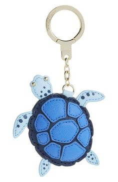 kate spade new york leather turtle bag charm Leather Gifts, Leather Craft, Leather Accessories, Leather Jewelry, Animal Bag, Leather Projects, Leather Keychain, Small Leather Goods, Key Fobs