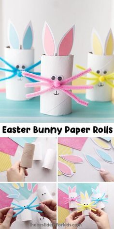 easter crafts for kids & easter crafts . easter crafts for kids . easter crafts for toddlers . easter crafts for adults . easter crafts for kids christian . easter crafts for kids toddlers . easter crafts to sell Easter Craft Activities, Easter Arts And Crafts, Spring Crafts For Kids, Bunny Crafts, Preschool Crafts, Activities For Kids, Spring Activities, Easy Crafts For Kids, Kids Diy