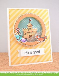 LifeIsGood_ChariMoss1 by Lawn Fawn Design Team, via Flickr