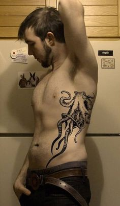 51 best Side Tattoos for Men images on Pinterest | Tattoo ideas ...