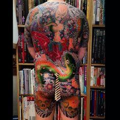 Daisuke Sakaguchi Tattoo