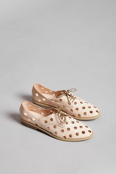 Leather derbies — Rachel Comey