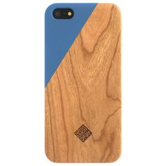 CLIC Wooden iPhone 5 Case Aqua