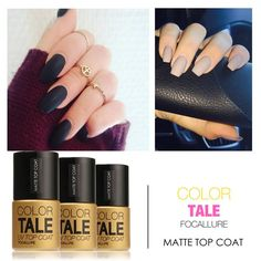 Now available on you store: FOCALLURE Super M... Check it out here! http://beyoutifulshop.co/products/high-quality-12ml-super-matte-dull-effect-changing-transfiguration-nail-polish-top-coat-by-focallure?utm_campaign=social_autopilot&utm_source=pin&utm_medium=pin