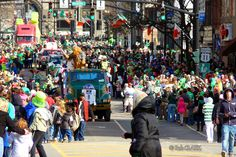 Binghamton St Patrick's Day Parade March 3, 2012...photo by Bob Clark